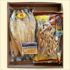 황태선물세트(특5미,황태채500g)